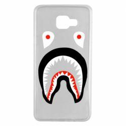 Чехол для Samsung A7 2016 Bape shark logo