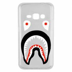 Чехол для Samsung J1 2016 Bape shark logo