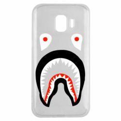 Чехол для Samsung J2 2018 Bape shark logo