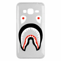 Чехол для Samsung J3 2016 Bape shark logo