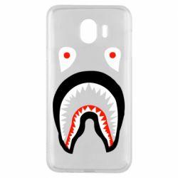 Чехол для Samsung J4 Bape shark logo