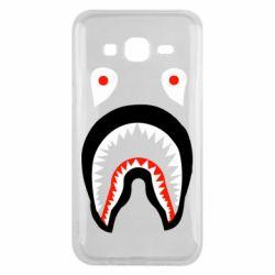 Чехол для Samsung J5 2015 Bape shark logo