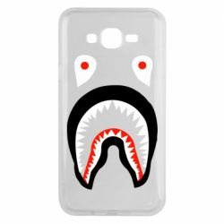 Чехол для Samsung J7 2015 Bape shark logo