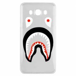 Чехол для Samsung J7 2016 Bape shark logo
