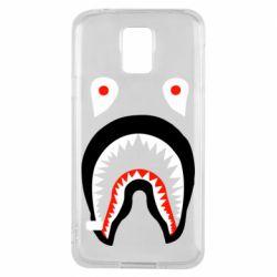Чехол для Samsung S5 Bape shark logo