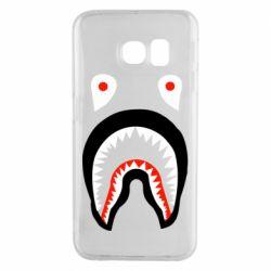 Чехол для Samsung S6 EDGE Bape shark logo
