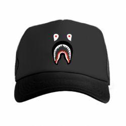 Кепка-тракер Bape shark logo