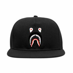 Снепбек Bape shark logo