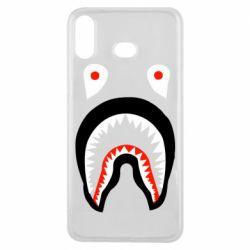 Чехол для Samsung A6s Bape shark logo
