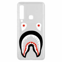 Чехол для Samsung A9 2018 Bape shark logo