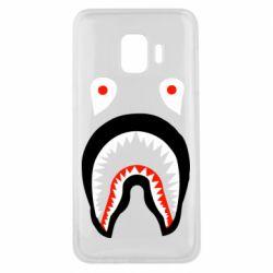 Чехол для Samsung J2 Core Bape shark logo