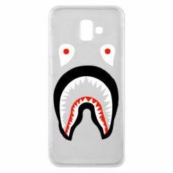 Чехол для Samsung J6 Plus 2018 Bape shark logo