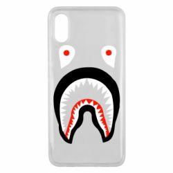 Чехол для Xiaomi Mi8 Pro Bape shark logo