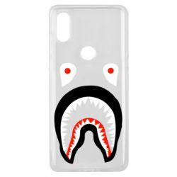 Чехол для Xiaomi Mi Mix 3 Bape shark logo