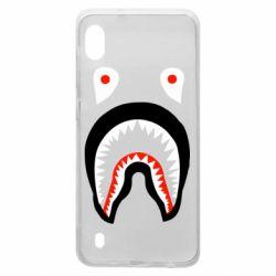 Чехол для Samsung A10 Bape shark logo