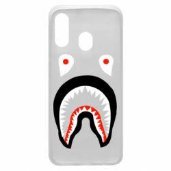 Чехол для Samsung A40 Bape shark logo