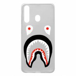 Чехол для Samsung A60 Bape shark logo