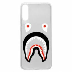 Чехол для Samsung A70 Bape shark logo