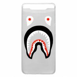 Чехол для Samsung A80 Bape shark logo