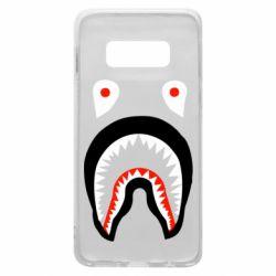 Чехол для Samsung S10e Bape shark logo