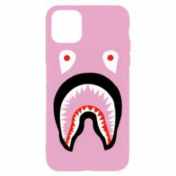 Чехол для iPhone 11 Bape shark logo