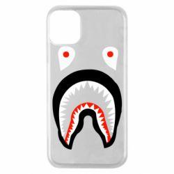 Чехол для iPhone 11 Pro Bape shark logo