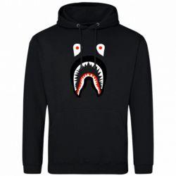 Мужская толстовка Bape shark logo