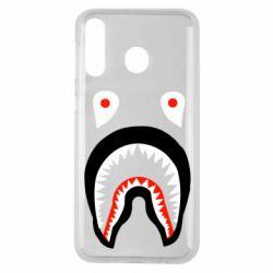 Чехол для Samsung M30 Bape shark logo