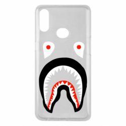 Чехол для Samsung A10s Bape shark logo