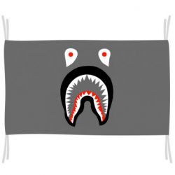 Флаг Bape shark logo