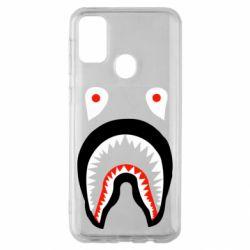 Чехол для Samsung M30s Bape shark logo
