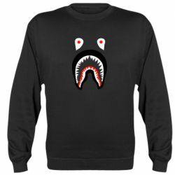 Реглан (свитшот) Bape shark logo