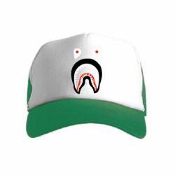 Детская кепка-тракер Bape shark logo