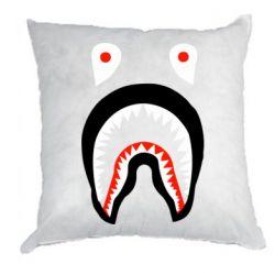 Подушка Bape shark logo