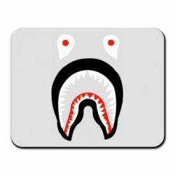 Коврик для мыши Bape shark logo