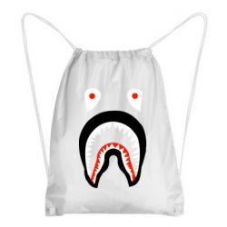 Рюкзак-мешок Bape shark logo
