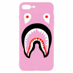 Чехол для iPhone 7 Plus Bape shark logo
