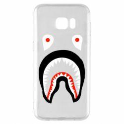 Чехол для Samsung S7 EDGE Bape shark logo