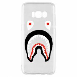Чехол для Samsung S8 Bape shark logo