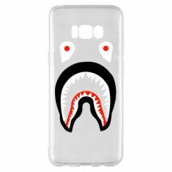 Чехол для Samsung S8+ Bape shark logo