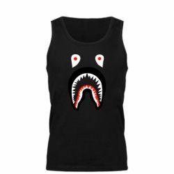 Мужская майка Bape shark logo