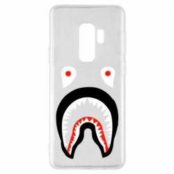 Чехол для Samsung S9+ Bape shark logo