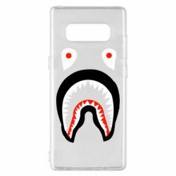 Чехол для Samsung Note 8 Bape shark logo