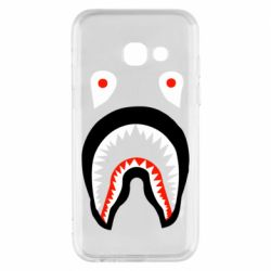 Чехол для Samsung A3 2017 Bape shark logo
