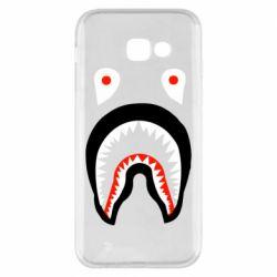 Чехол для Samsung A5 2017 Bape shark logo
