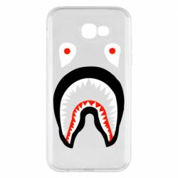 Чехол для Samsung A7 2017 Bape shark logo