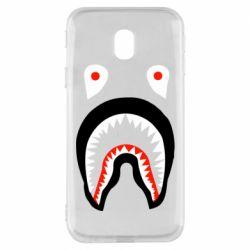 Чехол для Samsung J3 2017 Bape shark logo