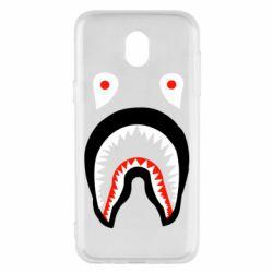 Чехол для Samsung J5 2017 Bape shark logo