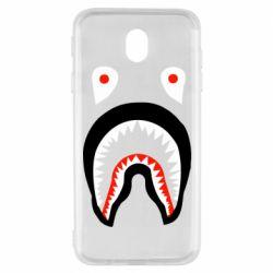 Чехол для Samsung J7 2017 Bape shark logo