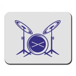 Коврик для мыши Барабанная установка - FatLine